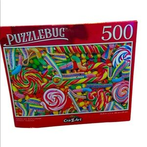 NWT Sealed 500 Piece Candy Puzzle//Giftable